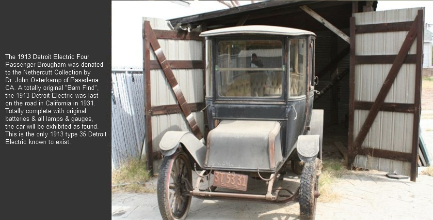 1913 Detroit Electric