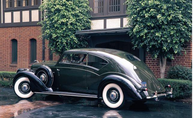 1938 Lincoln Model K Touring Coupe