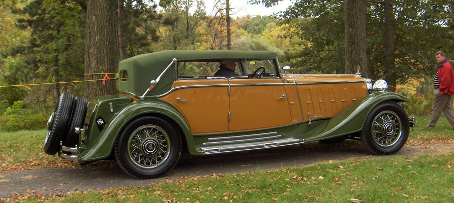 1932 Maybach Zeppelin Sports Cabriolet