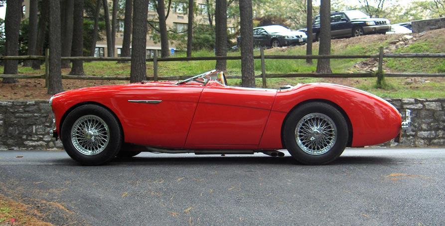 "1955 Austin-Healey ""Le Mans"" Roadster"