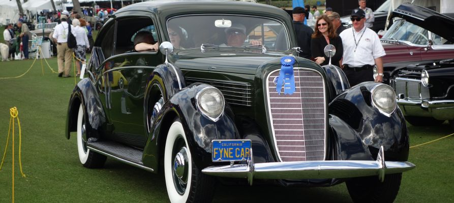 1938 Lincoln Model K Judkins Touring Coupe