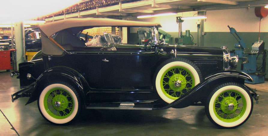1931 Ford Model A Deluxe Phaeton