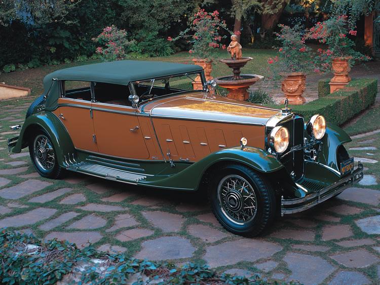 1932 Maybach – Zeppelin DS 8/Convertible Sedan